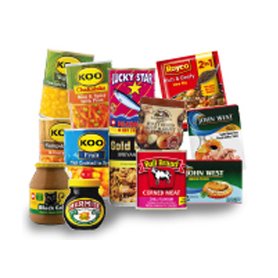 Pantry loader combo - Royco Stew Mix Rich And Beefy 50g Gold Dish Beef Breyani 380g Lucky Star Pilchards in Hot Chilli Sauce 400g John West Smoked Oysters In Water 85g Bull Brand Corned Meat Chilli 300g Koo Chakalaka Mild & Spicy With Peas 410gr Koo Choice Grade Fruit Cocktail 825g Koo Creamstyle Sweetcorn 415g John West Tuna Pouches In Oil 85g Koo Samp And Beans In Curry 400g Ina Paarman's Brown Onion Soup & Gravy Powder 150g Black Cat Crunchy Peanut Butter No Sugar & Salt 800g Marmite Yeast Extract Spread 250g