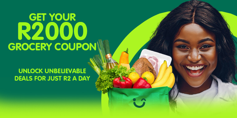 Save up to R2000 on groceries.